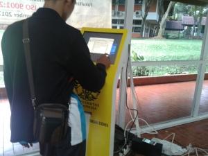 mesin antrian di jakarta universitas indonesia