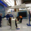 sewa mesin antrian jakarta antrianqu garuda travel fair 1