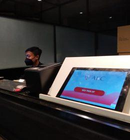mesin antrian kantor direct selling afc