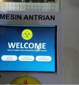 mesin antrian digital universitas negeri jakarta